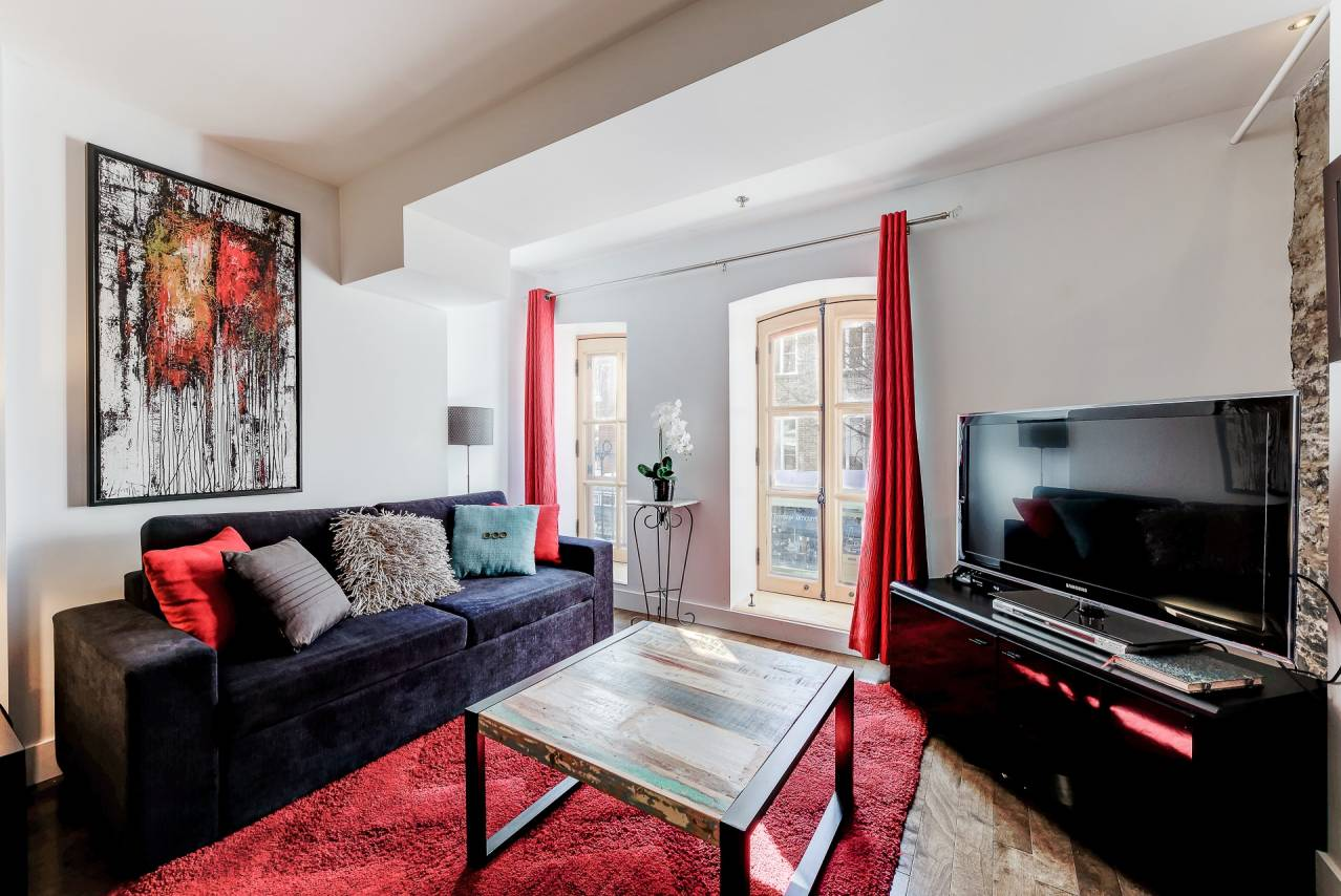 1 - Condo for rent, Quebec City - Old Port (Code - 1166, old-quebec-city)
