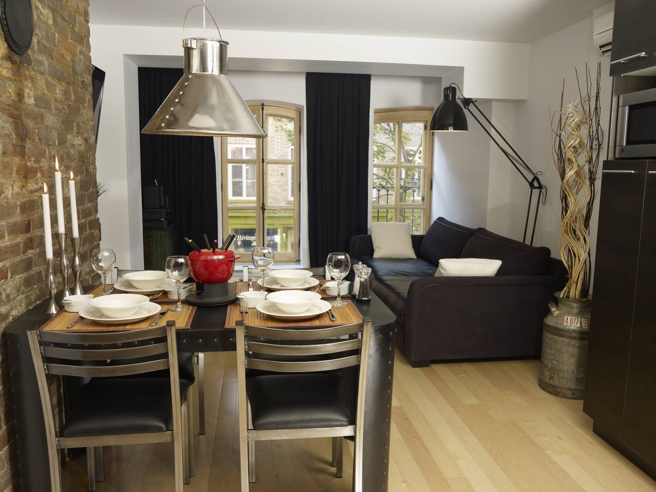 3 - Condo for rent, Quebec City - Old Port (Code - 1168, old-quebec-city)