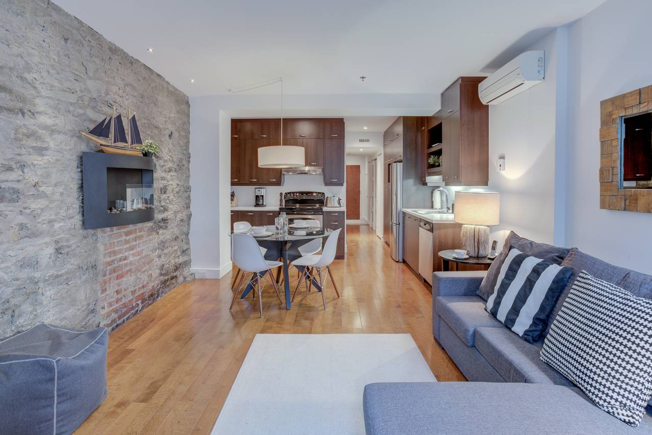 3 - Condo for rent, Quebec City - Old Port (Code - 1173, old-quebec-city)
