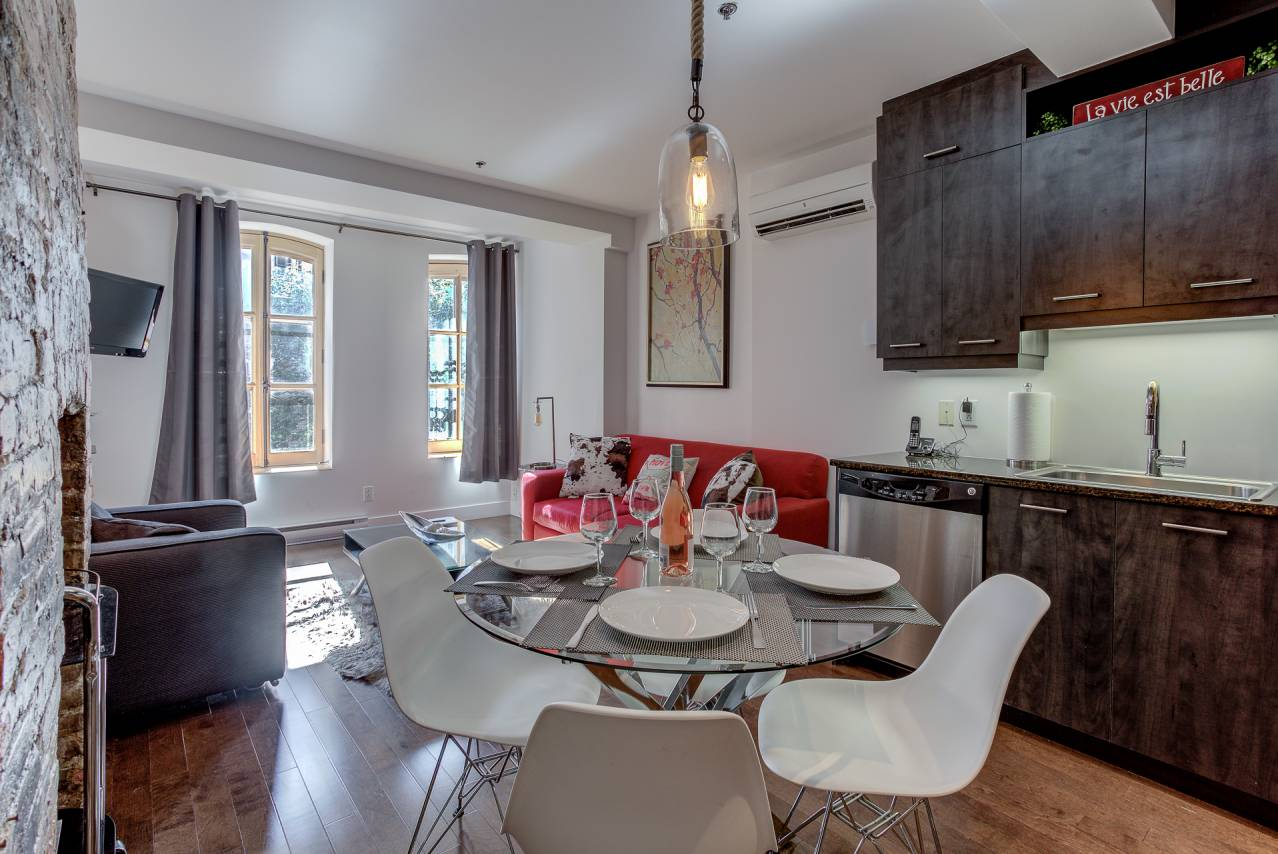 11 - Condo for rent, Quebec City - Old Port (Code - 1174, old-quebec-city)