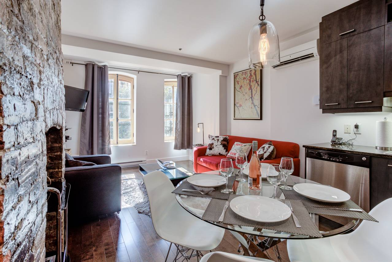 2 - Condo for rent, Quebec City - Old Port (Code - 1174, old-quebec-city)
