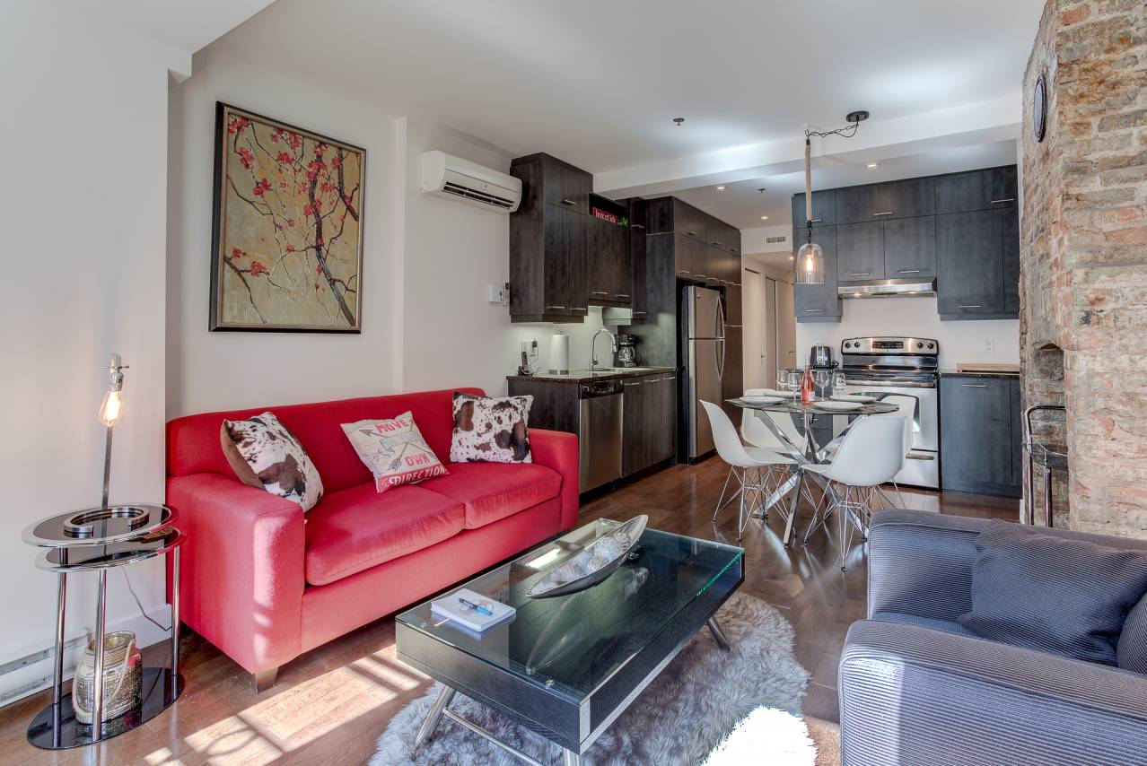3 - Condo for rent, Quebec City - Old Port (Code - 1174, old-quebec-city)