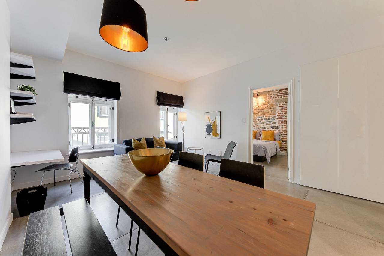 3 - Condo for rent, Quebec City - Old Port (Code - 20301, old-quebec-city)
