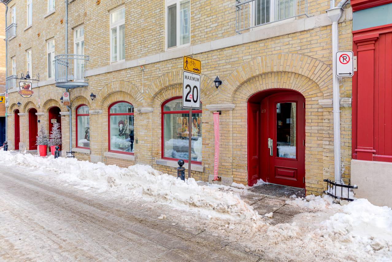 22 - Condo for rent, Quebec City - Old Port (Code - 20301, old-quebec-city)