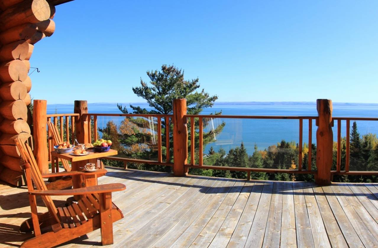 2 - Domain and cottage for rent, Saint-Irénée (Code - 289, charlevoix)