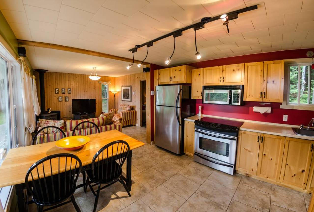 2 - Domain and cottage for rent, Les Éboulements (Code - 309, charlevoix)
