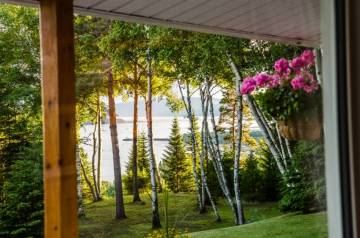Domain and cottage for rent - Les Éboulements, charlevoix (309)