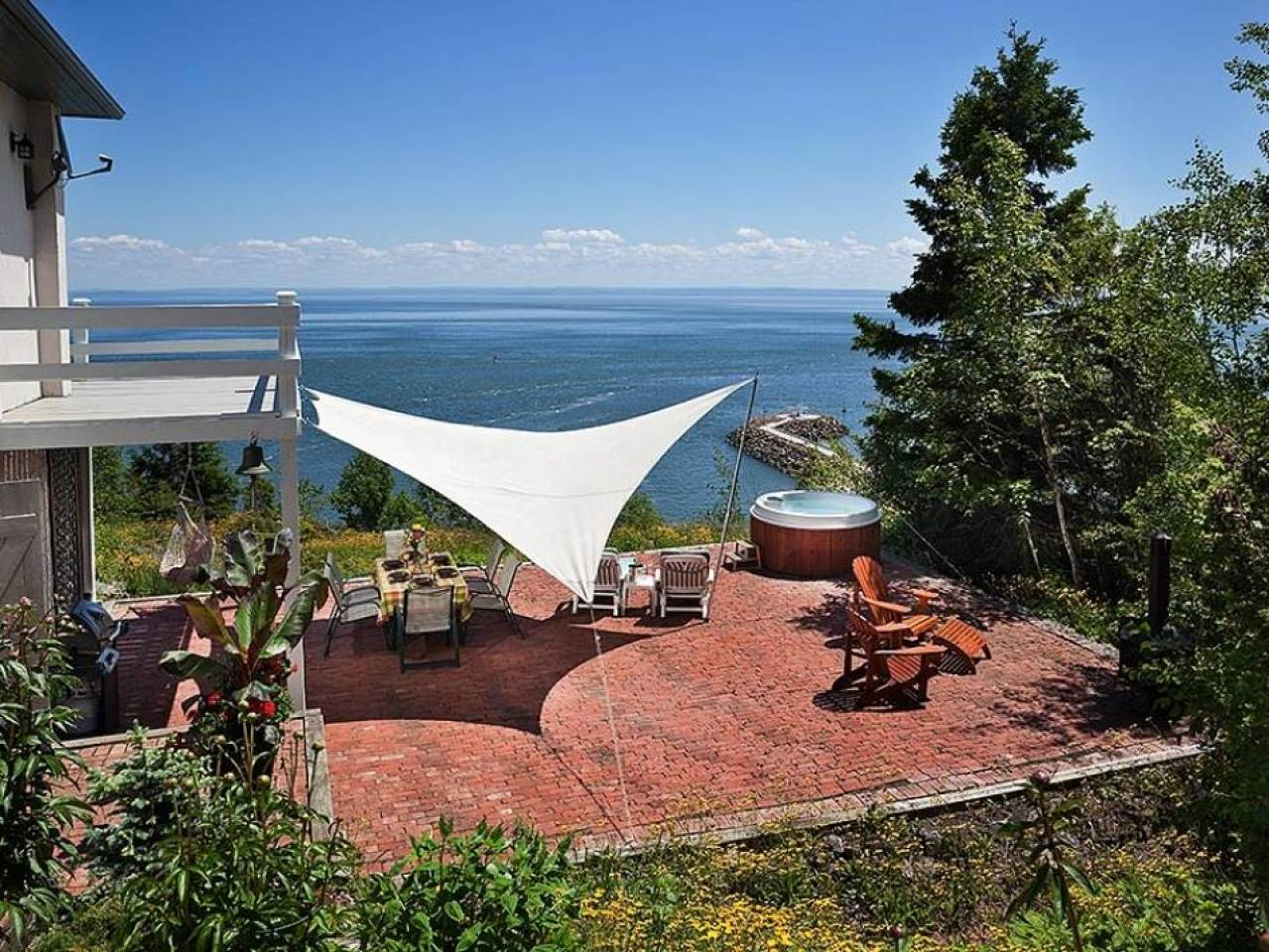 1 - Domain and cottage for rent, La Malbaie (Code - 349, charlevoix)