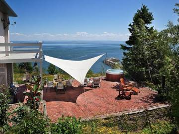 Domain and cottage for rent - La Malbaie, charlevoix (349)