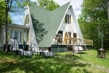 Domain and cottage for rent - Saint-Siméon, charlevoix (352)